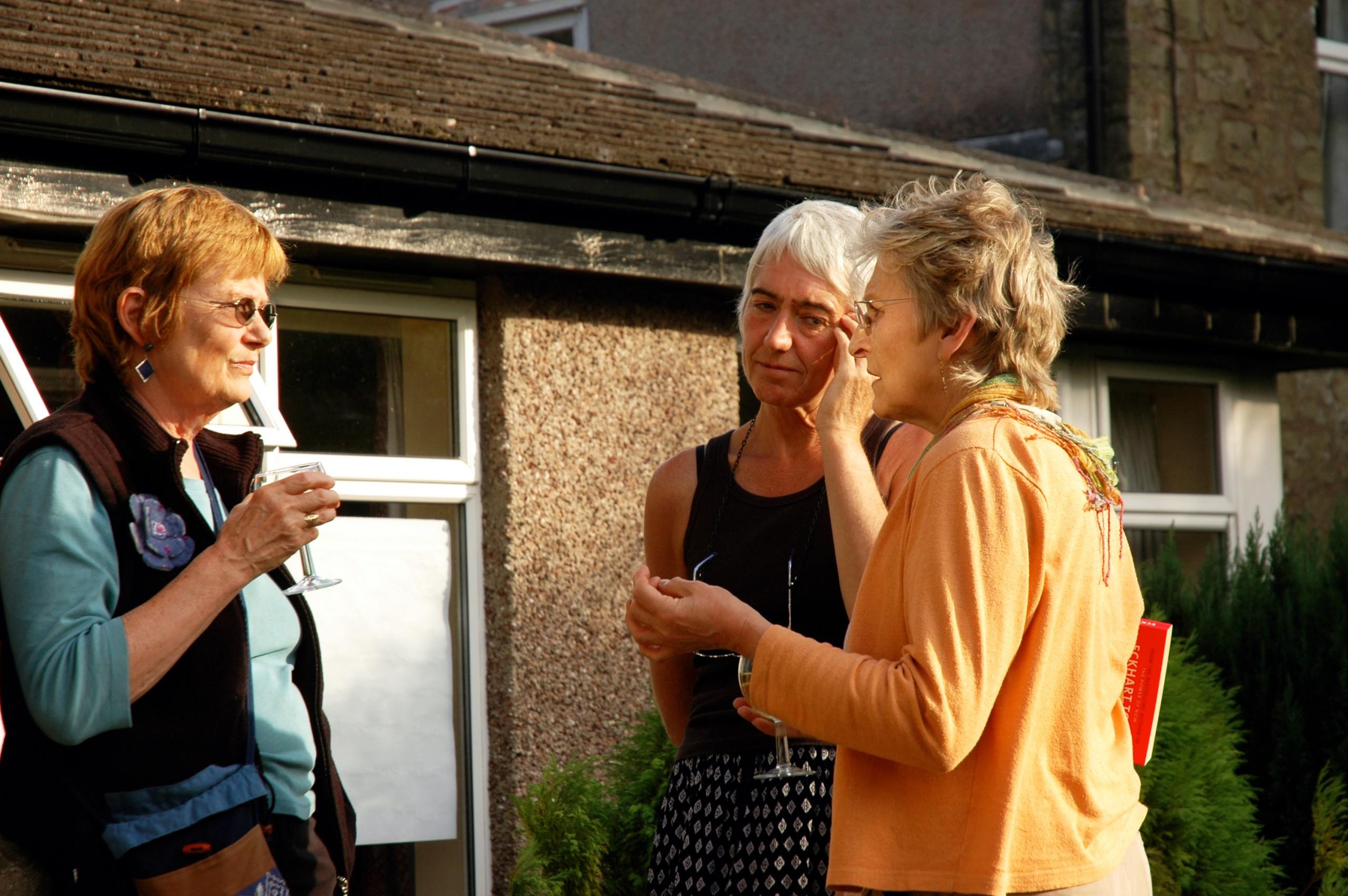 Lindy, Liz and Margaret K