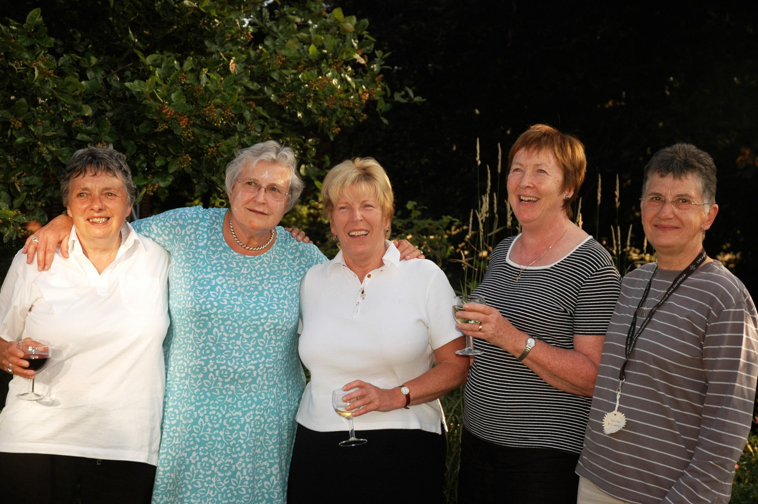 Margaret, Margaret, Nicky, Sonya