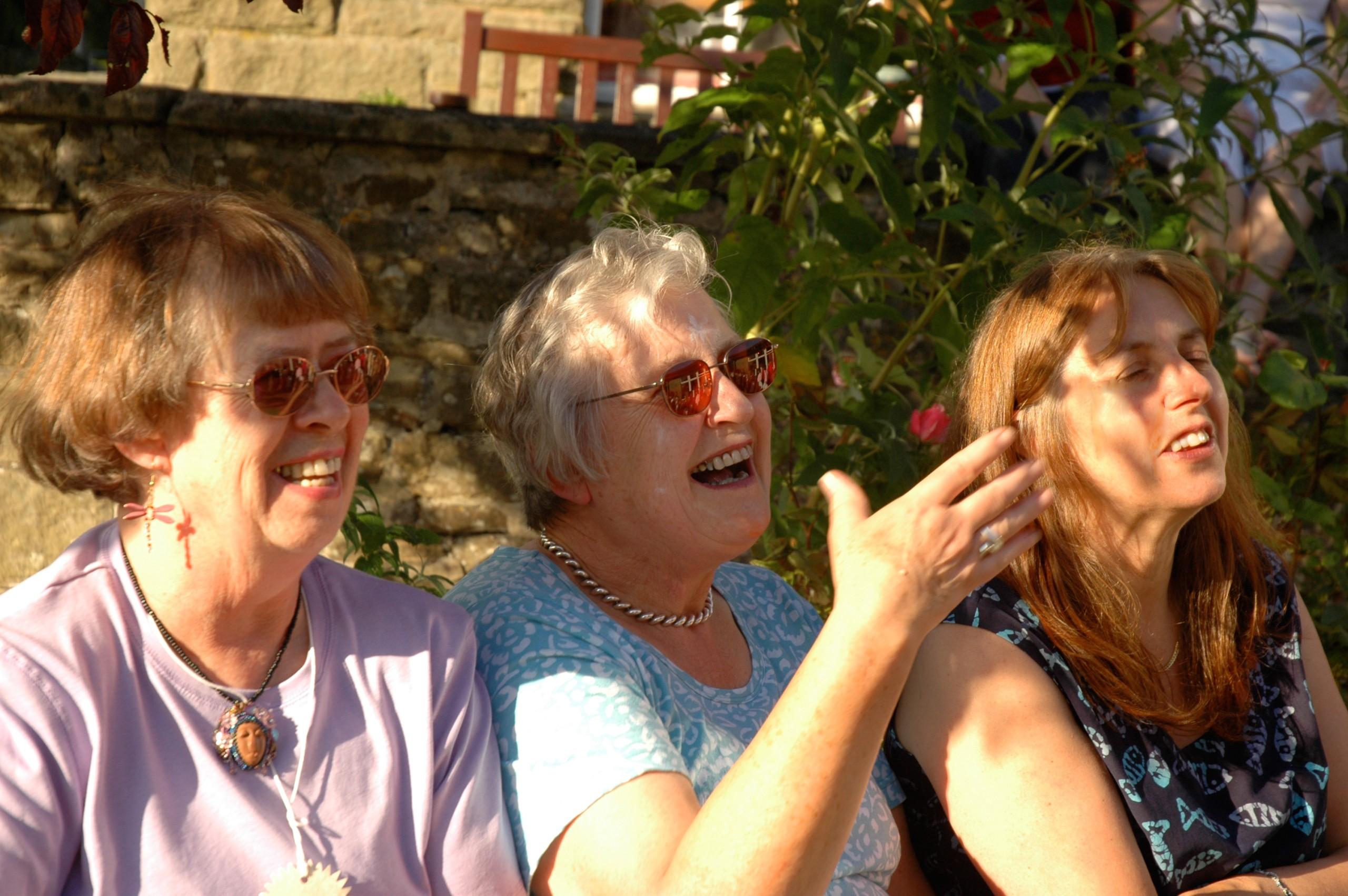 Patricia, Margaret H, Caroline T