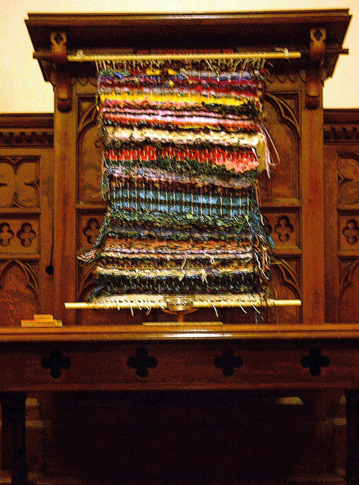 diversity weaving in chapel